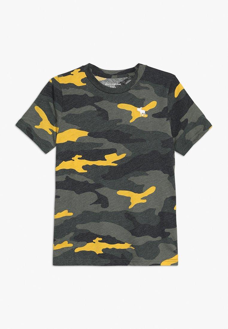 Abercrombie & Fitch - PATTERN - T-shirt imprimé - khaki
