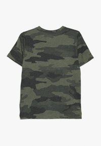 Abercrombie & Fitch - PATTERN - T-shirts print - olive/white - 1