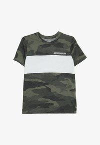 Abercrombie & Fitch - PATTERN - T-shirts print - olive/white - 2