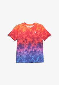 rainbow scrunch dye