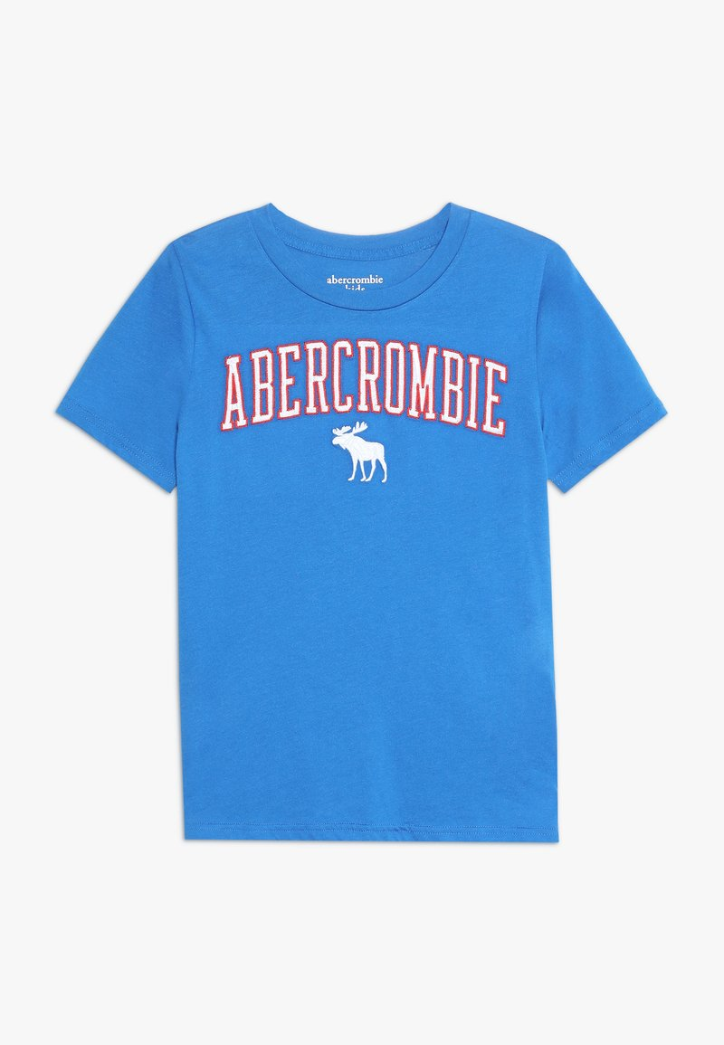 Abercrombie & Fitch - TECH LOGO - Print T-shirt - royal blue