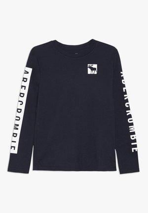 PRINT LOGO  - Maglietta a manica lunga - blue