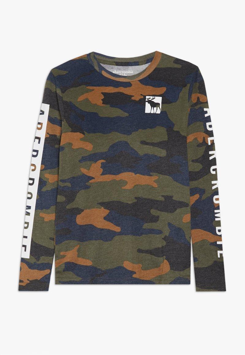 Abercrombie & Fitch - PRINT LOGO  - Långärmad tröja - green