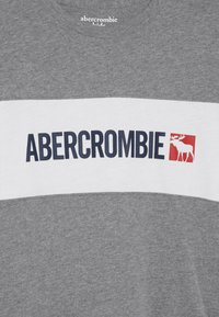 Abercrombie & Fitch - COLOR BLOCK LOGO - Longsleeve - white - 3