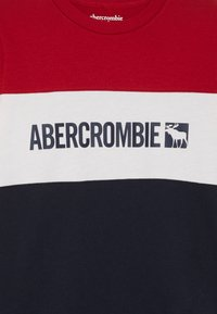 Abercrombie & Fitch - COLOR BLOCK LOGO - Longsleeve - red - 3