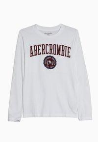 Abercrombie & Fitch - TECH LOGO  - Longsleeve - white - 0