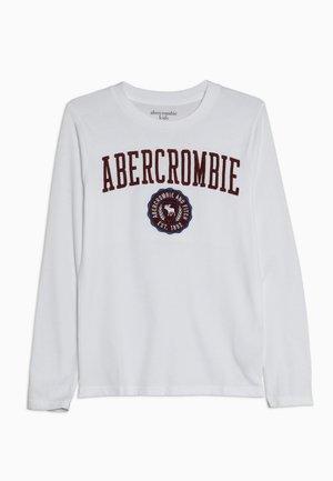 TECH LOGO  - Långärmad tröja - white