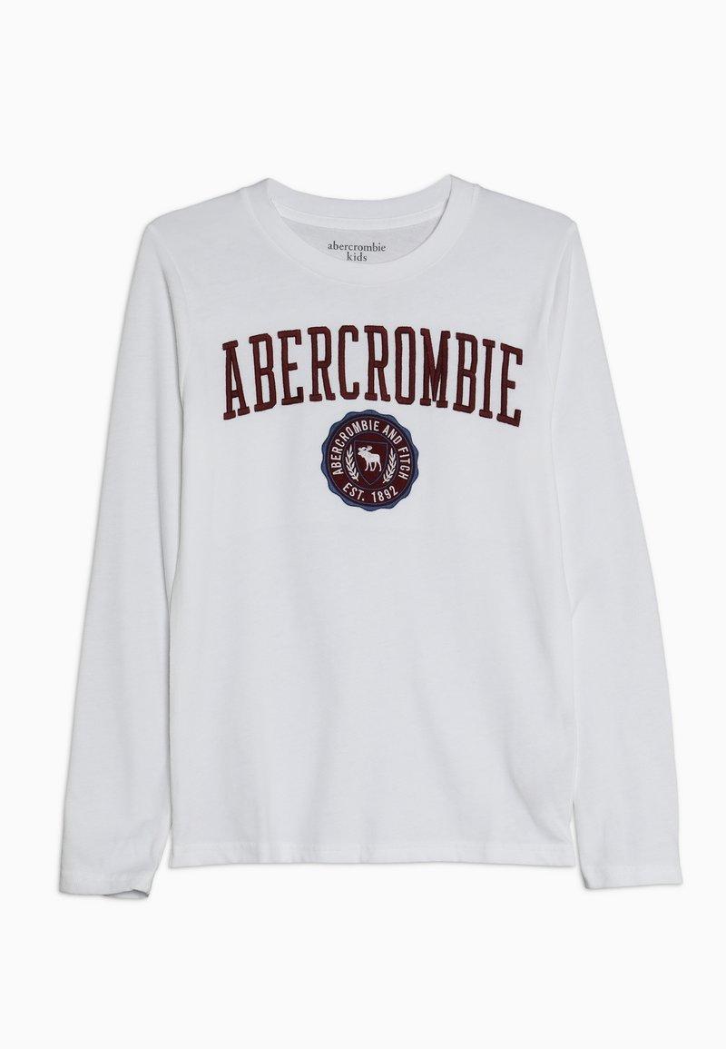 Abercrombie & Fitch - TECH LOGO  - Longsleeve - white