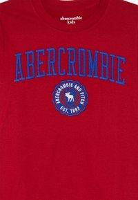 Abercrombie & Fitch - TECH LOGO  - T-shirt à manches longues - red - 3