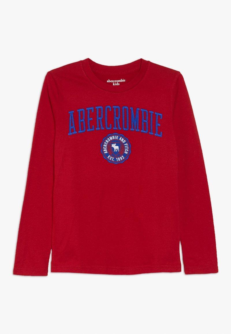 Abercrombie & Fitch - TECH LOGO  - T-shirt à manches longues - red