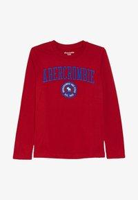 Abercrombie & Fitch - TECH LOGO  - T-shirt à manches longues - red - 2