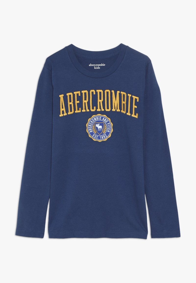 Abercrombie & Fitch - TECH LOGO  - Long sleeved top - blue