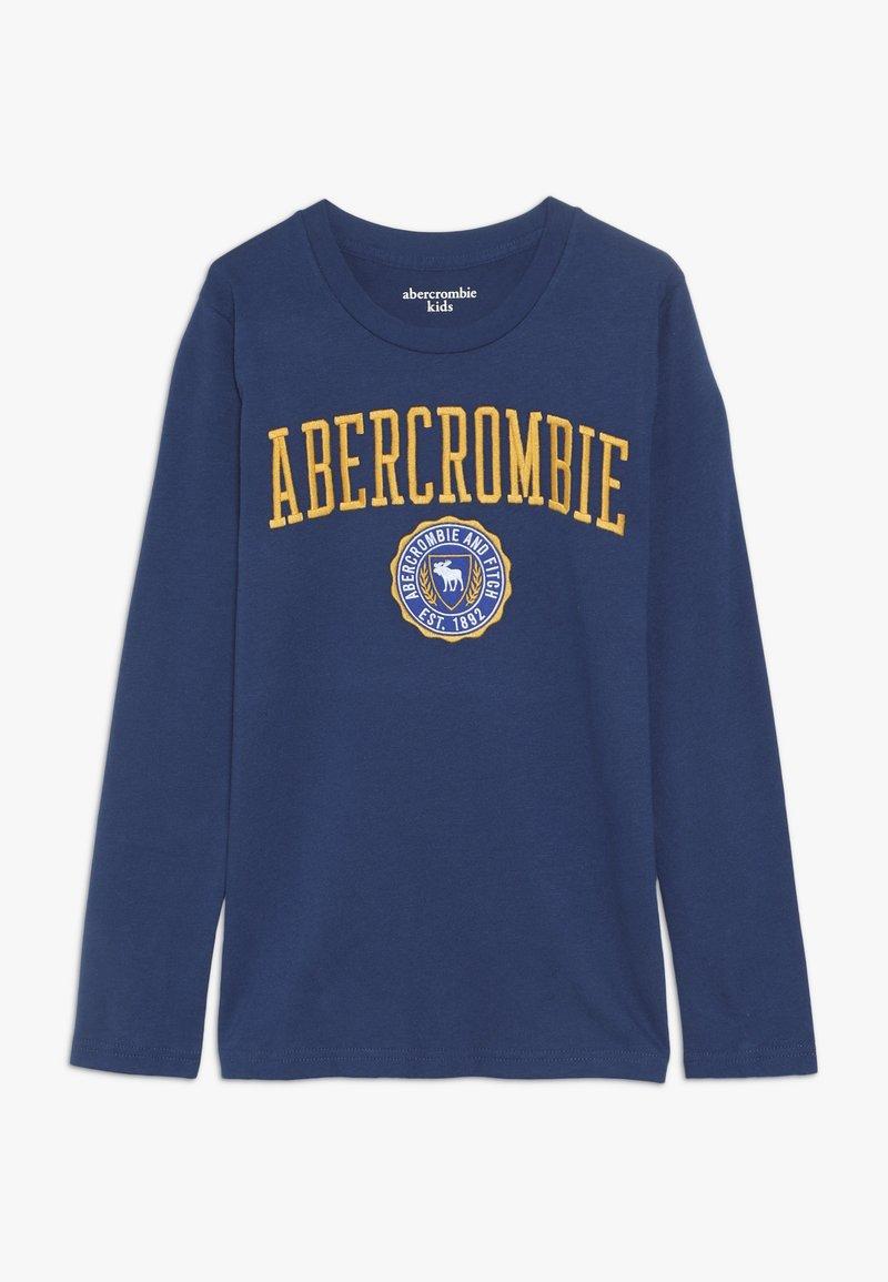 Abercrombie & Fitch - TECH LOGO  - Langærmede T-shirts - blue