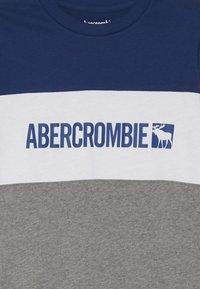 Abercrombie & Fitch - COLOR BLOCK - Longsleeve - blue/grey/orange - 3