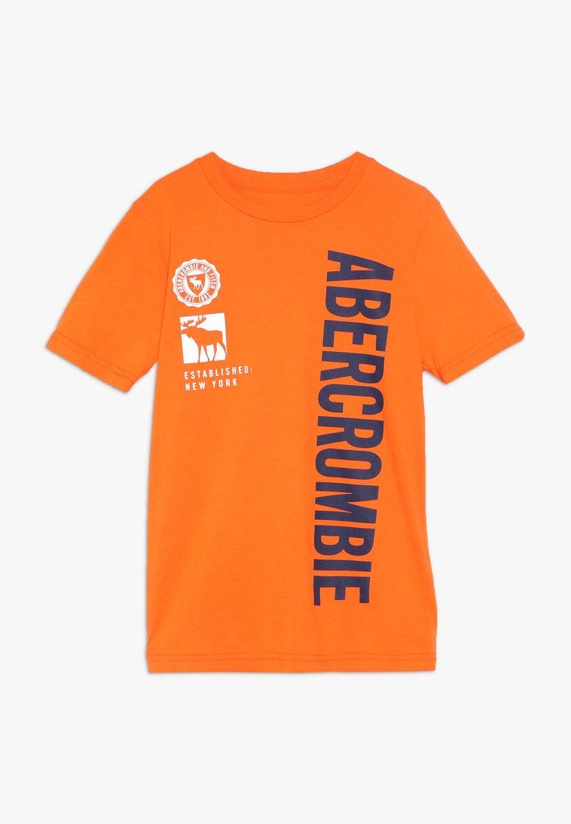 Abercrombie & Fitch - PRINT LOGO - Print T-shirt - orange