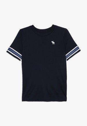 NOVELTY BASIC - Print T-shirt - navy