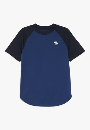 NOVELTY BASIC - Print T-shirt - blue
