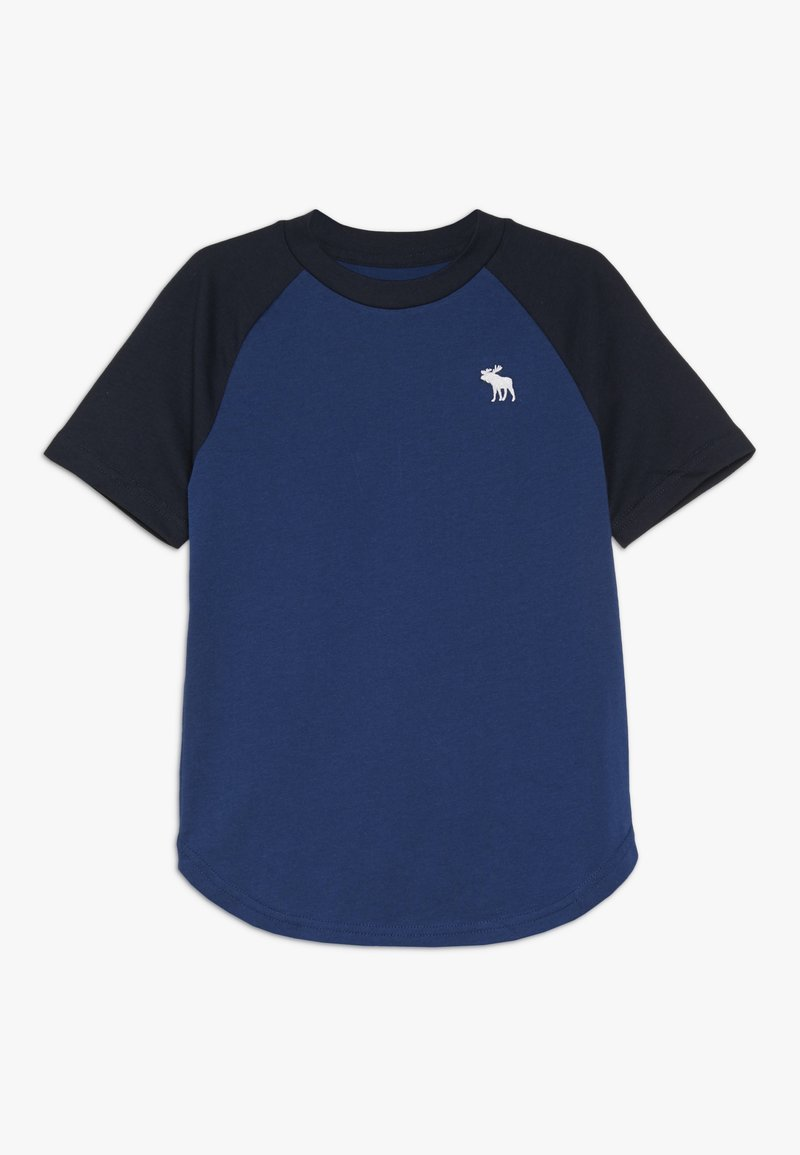 Abercrombie & Fitch - NOVELTY BASIC - Print T-shirt - blue
