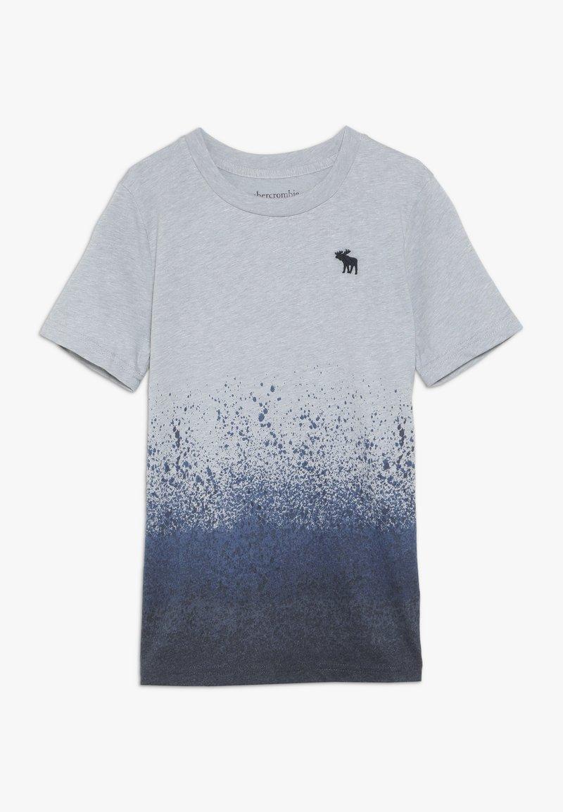Abercrombie & Fitch - PATTERN  - Print T-shirt - grey/blue