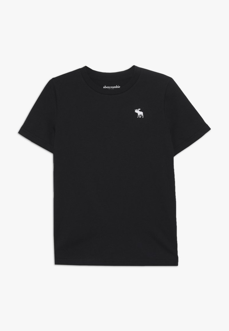 Abercrombie & Fitch - CORE CREW  - T-shirt basic - black