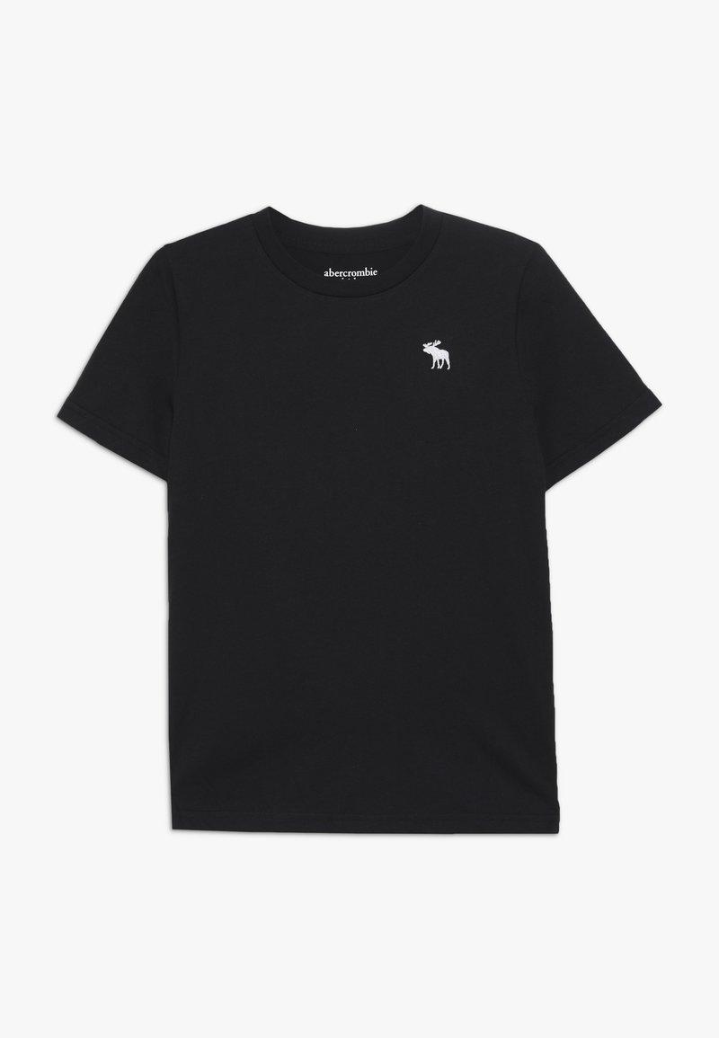 Abercrombie & Fitch - CORE CREW  - T-shirt - bas - black