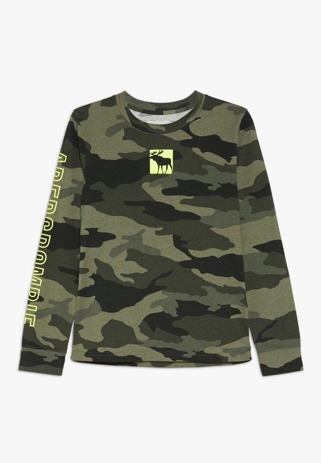 MULTI HIT  - Long sleeved top - khaki