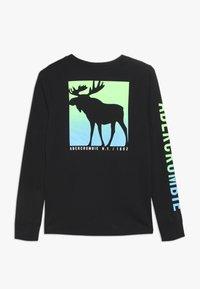Abercrombie & Fitch - MULTI HIT  - Maglietta a manica lunga - black - 1