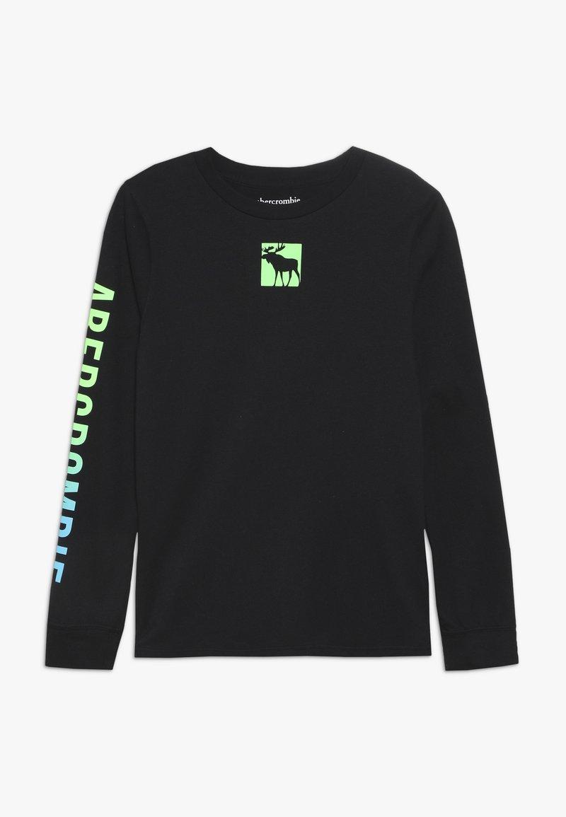 Abercrombie & Fitch - MULTI HIT  - Maglietta a manica lunga - black