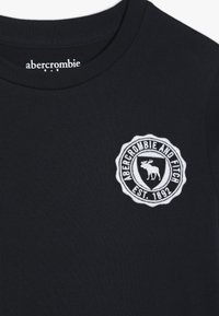 Abercrombie & Fitch - TECH LOGO - Long sleeved top - navy - 4