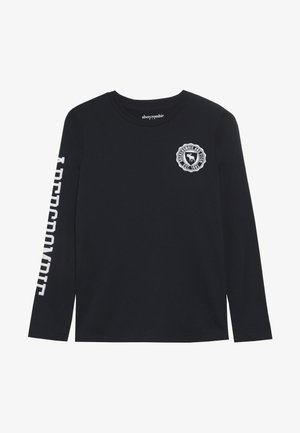 TECH LOGO - Longsleeve - navy