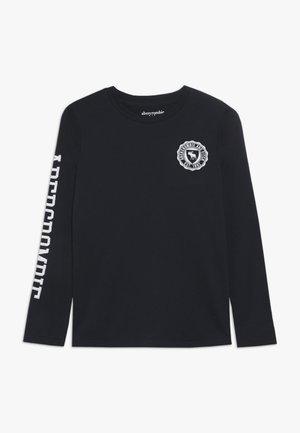 TECH LOGO - Bluzka z długim rękawem - navy