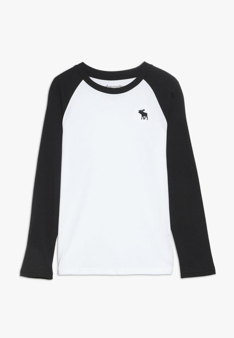 Abercrombie & Fitch - NOVELTY BASIC - Långärmad tröja - white body