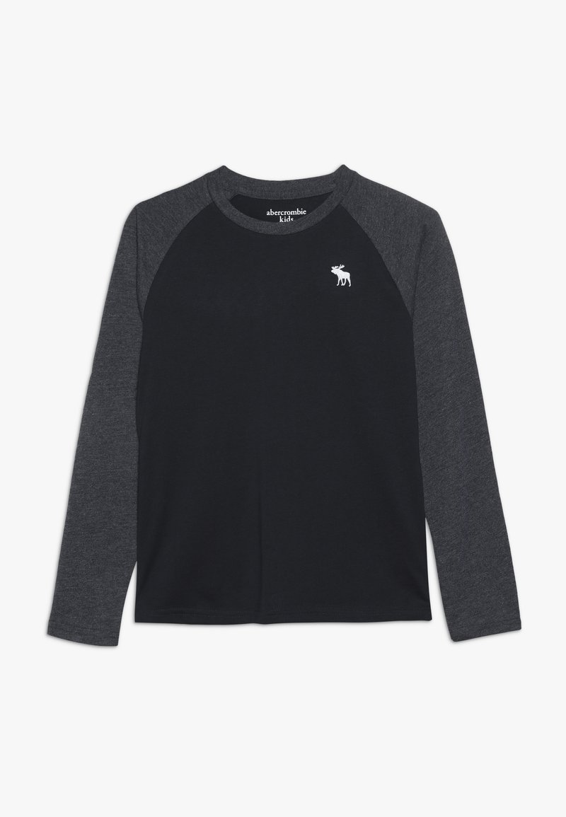 Abercrombie & Fitch - NOVELTY BASIC - Långärmad tröja - navy