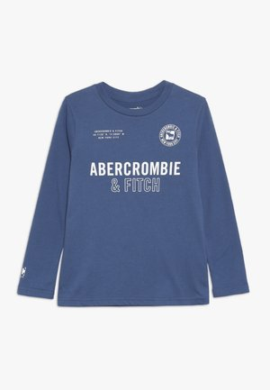 PATT DYE PRINT LOGO - Long sleeved top - blue