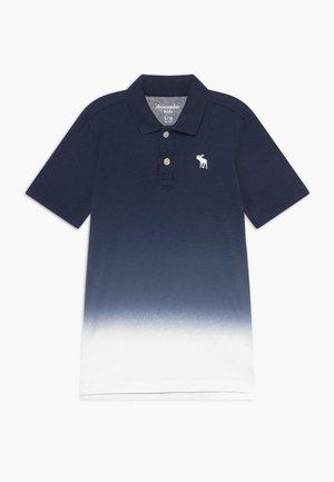 DIP DYE - Poloshirt - blue