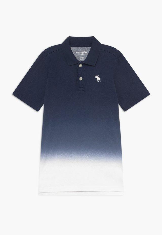 DIP DYE - Polo shirt - blue