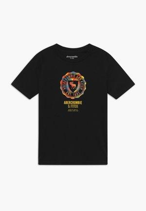 LOGO - T-shirt imprimé - navy