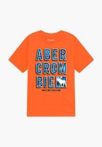 Abercrombie & Fitch - TRIPPY LOGO - Triko spotiskem - orange - 0