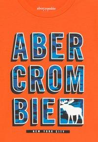 Abercrombie & Fitch - TRIPPY LOGO - Triko spotiskem - orange - 3