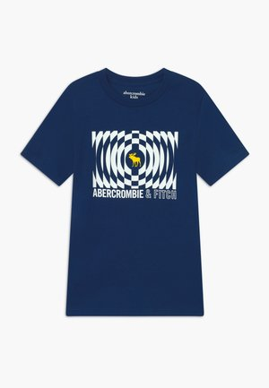 TRIPPY LOGO - T-shirt imprimé - blue