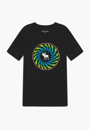 TRIPPY LOGO - Camiseta estampada - black