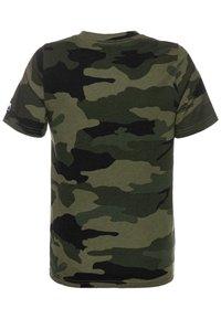 Abercrombie & Fitch - TECH LOGO - T-shirt print - olive - 1