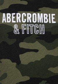 Abercrombie & Fitch - TECH LOGO - T-shirt print - olive - 2
