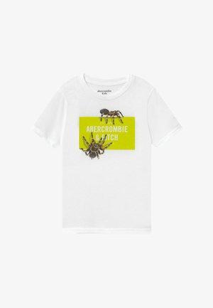 IMAGERY PRINT - T-shirts print - white