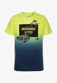 Abercrombie & Fitch - IMAGERY PRINT - T-shirt imprimé - yellow - 0