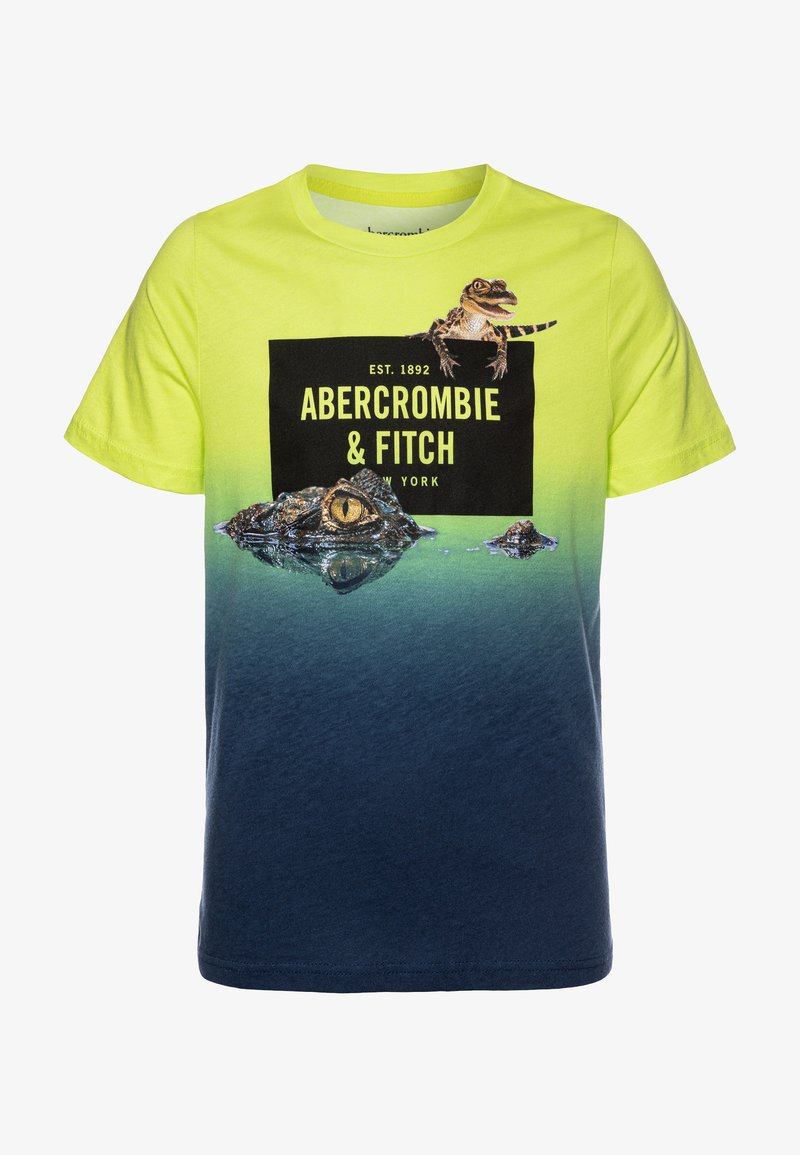 Abercrombie & Fitch - IMAGERY PRINT - T-shirt imprimé - yellow