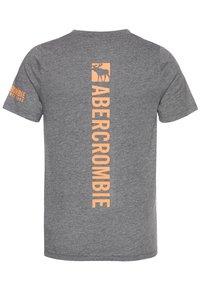 Abercrombie & Fitch - FLEX ITEM  - Triko spotiskem - grey - 1