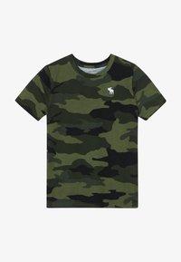 Abercrombie & Fitch - TEE  - Print T-shirt - khaki - 2