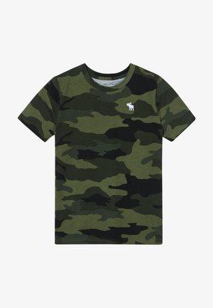 TEE  - T-shirt med print - khaki