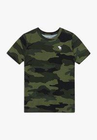 Abercrombie & Fitch - TEE  - Print T-shirt - khaki - 0